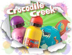 Crocodile Creek - uma linha única para crianças. Destacam-se as mochilas, lancheiras, termos, bolas, puzzles e muito mais. :: PITITI - Brinquedos, Livros e Jogos didáticos ::
