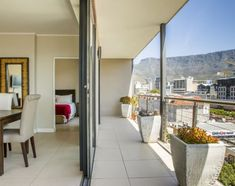 Harbour View @ The Rockwell in Cape Town. Luxury 2 Bedroom apartment in trendy De Waterkant area of Cape Town Cape Town Accommodation, 2 Bedroom Apartment, Africa Travel, South Africa, Bedroom Ideas, Windows, Luxury, Kids, Furniture