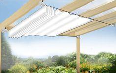 Sonnensegel in Seilspanntechnik