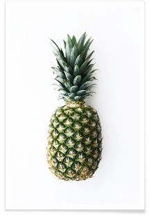 Pineapple - Miles of Light - Premium poster