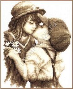 Любовь... любовь, вышивка крестом
