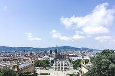 Visiting Catalonia: Montjuïc in Barcelona.