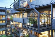 Evergreen365 a residential building with hanging gardens,  located in Poznan.  |  Architectural Studio  Insomia