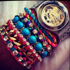 Bracelet & watch ENVY !!