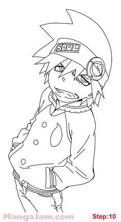 Anime Character Drawing, Manga Drawing, Manga Art, Anime Art, Naruto Drawings, Art Drawings Sketches, Rikka And Yuuta, Lineart Anime, Soul Eater Evans