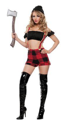 d2814fe9ac7 Starline Lumber Jack Lover Costume Women s Costume - Nastassy Mardi Gras  Costumes