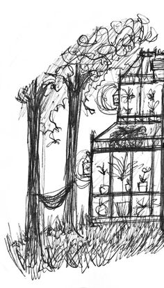 Green House. Sketch by Consti
