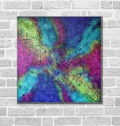 Kunstgalerie Winkler Acrylbild Abstrakt Malerei Unikat 3D Leinwand Bilder Neu
