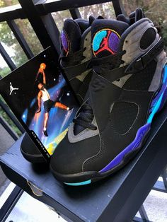 b4117f2a0fbe NIKE AIR JORDAN VIII 8 AQUA 2015 RETRO ORIGINAL Size 8.5  fashion  clothing   shoes  accessories  mensshoes  athleticshoes (ebay link)