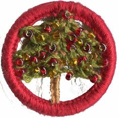 Gorgeous tree design; variation on the traditional Dorset Button More