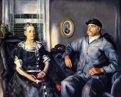 George Bellows - Mr. and Mrs. Phillip Wase