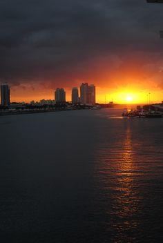 Sunrise, Miami Harbour, Florida