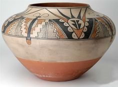 San Ildefonso Polychrome bowl By Maria and Julian Martinez, ca. 1920 Gila Pueblo Foundation Collection