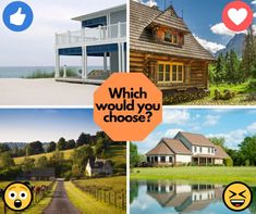 Which vacation house would you choose?👍 for the beach house❤ for the mountain house😮 for the farm house😆 for the lake house #ilovetravel #instavacation #instatravelling #passportready #writetotravel #travelwriter #travelstroke #getaway #travelpics #travelphoto #wanderer #traveltheworld #travelblogger #travelblog #igtravel #instapassport #travelling #travelingram Travel News, New Travel, Travel Pictures, Travel Photos, Vacation Deals, Farm House, Beach House, Travel Destinations, Places To Go