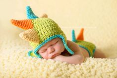 Baby  Dino Hat and Diaper Cover Set Photo Prop - Newborn Dinosaur Costume - Choose Color by MissEmsCloset on Etsy https://www.etsy.com/listing/195999997/baby-dino-hat-and-diaper-cover-set-photo