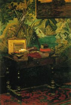 Artify Collections - A Corner of the Studio 1861 By Claude Monet, $111.52 (http://artifycollections.com/a-corner-of-the-studio-1861-by-claude-monet/)