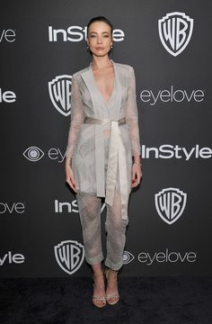 Stephanie Corneliussen wore a Rohit Gandhi + Rahul Khanna Spring'17 suit to the Warner Bros./InStyle #GoldenGlobes Post-Party last weekend. The Fashion Court (@TheFashionCourt) | Twitter