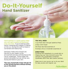 If You Want To Clean Your Hands Frequently But Don T Want To
