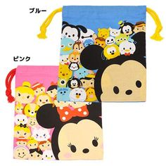 Disney Tsum Tsum Cinch Bags