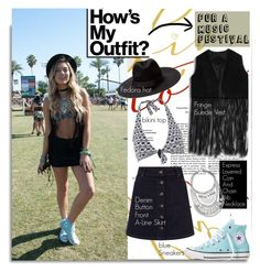 """How to Dress for a Music Festival...."" by hamaly ❤ liked on Polyvore featuring Moontide, Converse, Express, StreetStyle, BloggerStyle, coachella, waystowear, Lollapalooza, bonnaroo and Pitchfork"