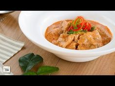 Curry Panang con Cerdo - Curry rojo Tailandés | Cocino Thai