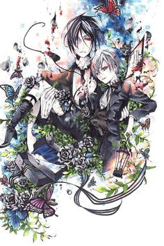 [Black Butler] Sebastian Michaelis and Ciel Phantomhive