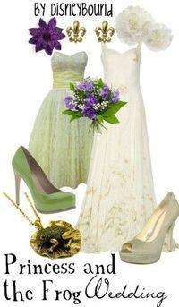 princess tiana wedding by Disneybound Disney Dresses, Disney Outfits, Cute Outfits, Disney Clothes, Mode Collage, Disneybound Outfits, Estilo Disney, Disney Inspired Fashion, Disney Fashion