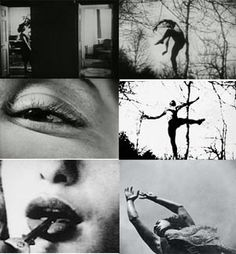 """Maya Deren – Film Theoretician/Maker of the Week In her essay, """"Cinematography: The Creative Use of Reality,"""" Maya Deren, an anti-realist, understood that the authority of reality is available even to. Narrative Photography, Film Photography, Hans Richter, Research Poster, Looks Halloween, Wow Art, Film Stills, Black And White Photography, Surrealism"""