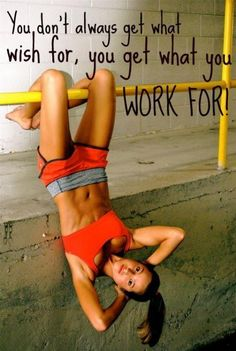 Stop wishing, start working!