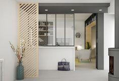 Un souffle de nouveauté - rénovation - aménagement - lyon - miribel - cuisine - entrée - pièce à vivre - architecture intérieure - décoration - lanoe marion