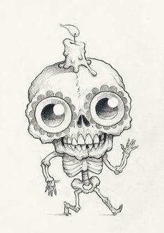 Chris Ryniak – Spooky Scribble #401