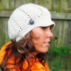 Reversible Hat Crochet Pattern. $4.99, via Etsy.