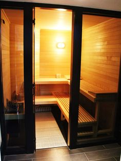 38 Easy And Cheap Diy Sauna Design You Can Try At Home. he prospect of building a sauna in the home may initially sound daunting, but in fact it is a relatively simple project and one that requires on. Basement Sauna, Small Basement Bathroom, Sauna Room, Basement Remodeling, Bathroom Ideas, Basement Ideas, Ikea Bathroom, Bathrooms, Basement Stair