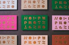 Protz Studio by Smith Diction. #branding #businesscards