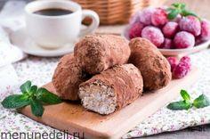 Пирожное «Творожная картошка»