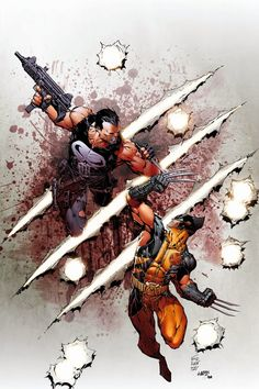 The Punisher vs Wolverine