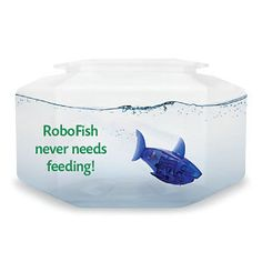 Electronic RoboFish with Bowl - Toys, Games, Electronics & Crafts – Educational, Imaginative & Fun