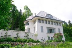 Le Corbusier - one of the architect's lesser-known masterpieces—his family's home in Switzerland.