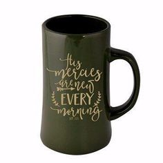 Mercies Are New Every Day-13 oz, Mug