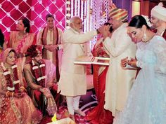 Actor-politician Shatrughan Sinha's son Kussh married NRI Taruna Agarwal in a very private ceremony attended by select Bollywood guests and Prime Minister Narendra Modi. Mr Modi, who attended the pheras, fed sweets to Shatrughan Sinha while the groom's sister, actress Sonakshi Sinha, who had invited him for the wedding along with her parents…