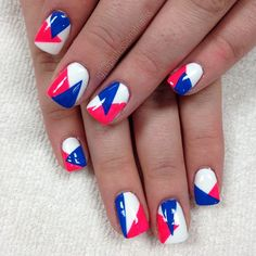 """""""Enjoying these triangles?"""" Photo taken by @professionalnailss on Instagram, pinned via the InstaPin iOS App! http://www.instapinapp.com (04/10/2015)"""