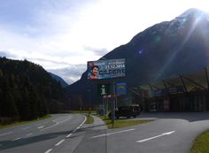 Welcome to Ötztal! Display, Led, Floor Space, Billboard