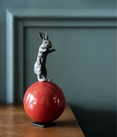 Rabbit Paperweight.