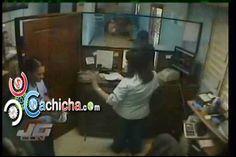 Desconocidos asaltaron ayer la oficina de la Corporación del Acueducto y Alcantarillado de Santiago (Coraasan) #video - Cachicha.com
