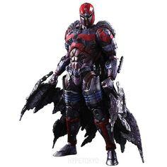 MARVEL UNIVERSE Square Enix Play Arts Kai Action Figure : Magneto  #marvel #squareenix #xmen #magneto #actionfigure #hypetokyo