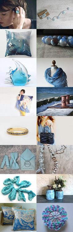 The Waves by 3buu on Etsy--Pinned+with+TreasuryPin.com