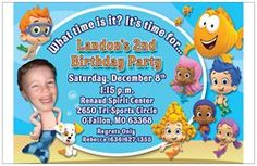 Landon's Invitation...I laugh every time I see it :-)