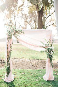 Ruffled photo by hannah gaul photography http://ruffledblog.com/feminine ethereal wedding inspiration
