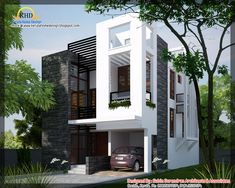 Steel Home Plans and Designs | Modern contemporary home - 1450 Sq. Ft | home appliance