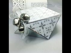 Envelope Punch Board Faceted Box - YouTube